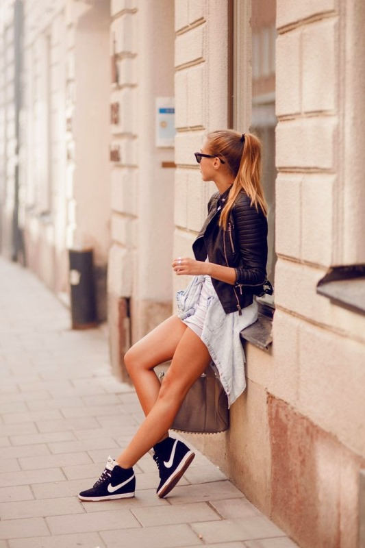 Picture Of stylish and fresh ways to wear a motorcycle jacket  20