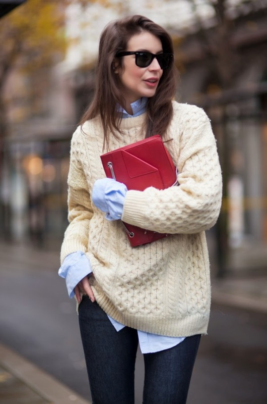 Picture Of stylish cable knit sweaters to warm up this winter  2