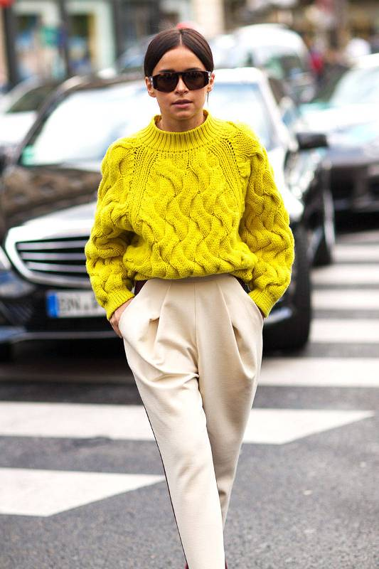 Picture Of stylish cable knit sweaters to warm up this winter  4
