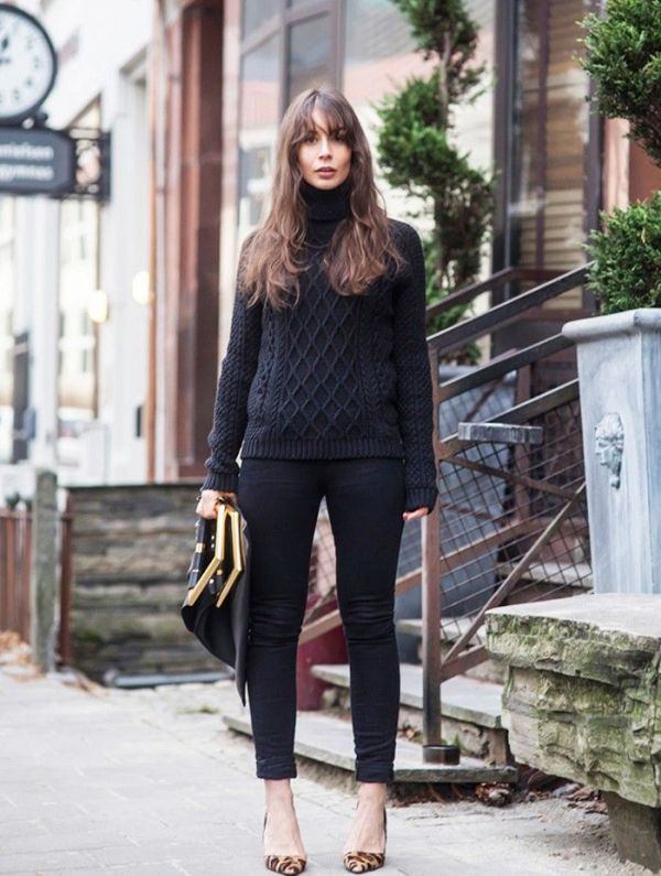 Picture Of stylish cable knit sweaters to warm up this winter  5