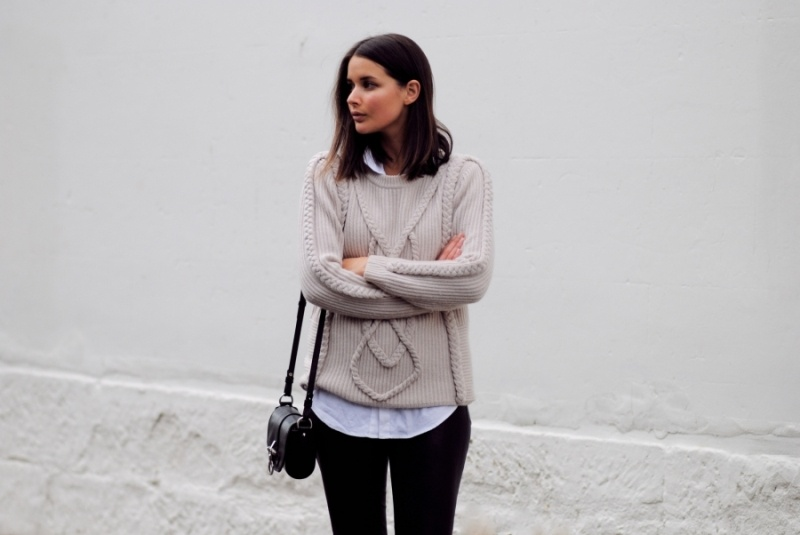 Picture Of stylish cable knit sweaters to warm up this winter  9