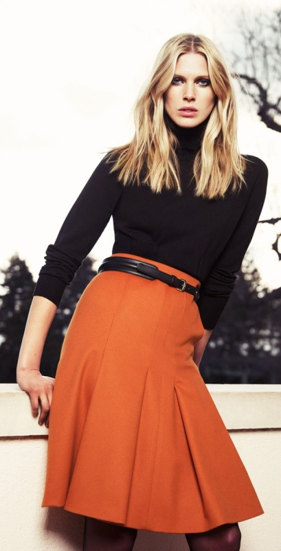 Picture Of stylish picks to inspire you to wear orange at work  10