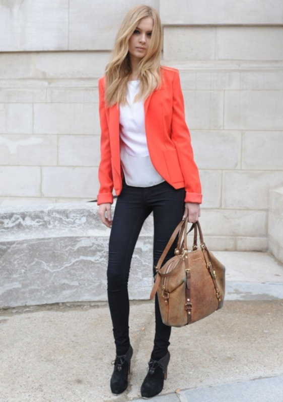 Picture Of stylish picks to inspire you to wear orange at work  12