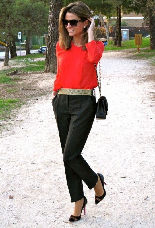Picture Of stylish picks to inspire you to wear orange at work  13