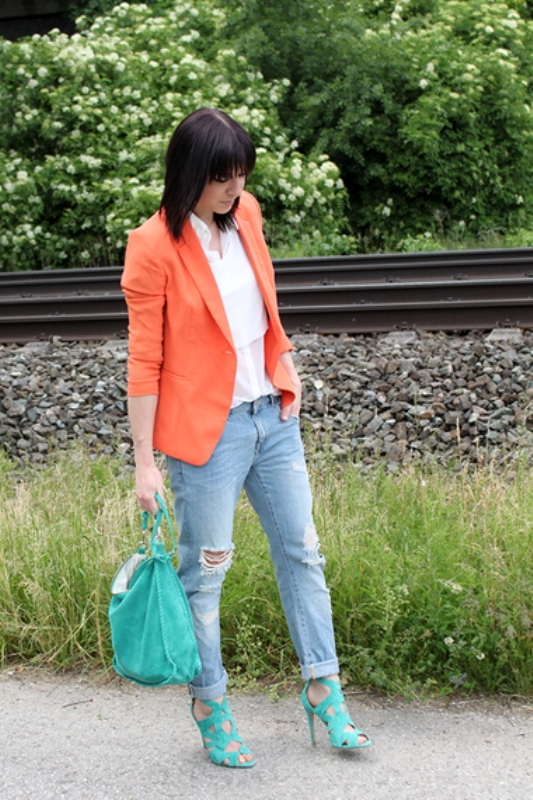 Picture Of stylish picks to inspire you to wear orange at work  17