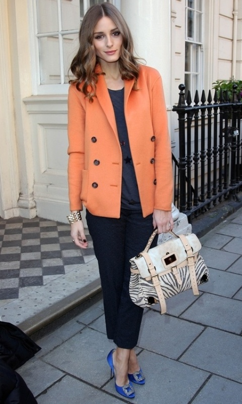 Picture Of stylish picks to inspire you to wear orange at work  2