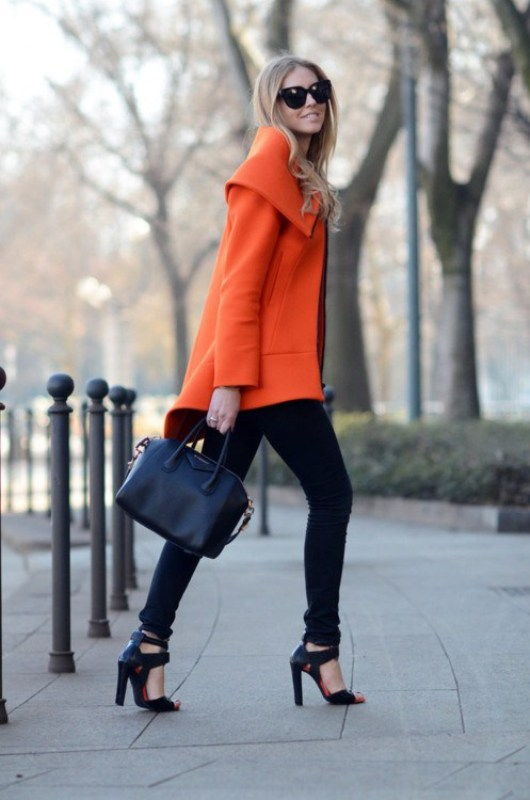 Picture Of stylish picks to inspire you to wear orange at work  3