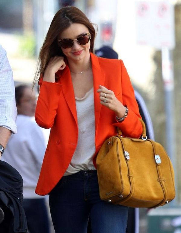 Picture Of stylish picks to inspire you to wear orange at work  7
