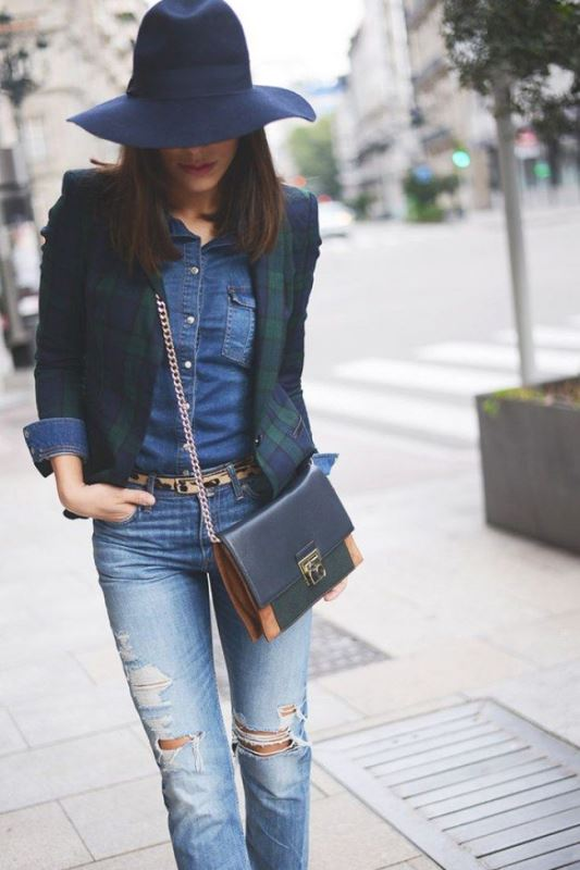 Picture Of stylish summer to fall looks to copy  17