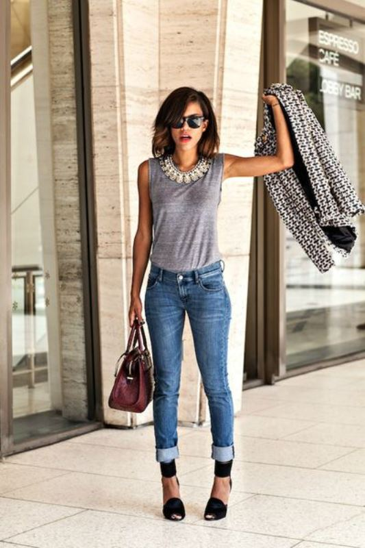 Picture Of stylish summer to fall looks to copy  8