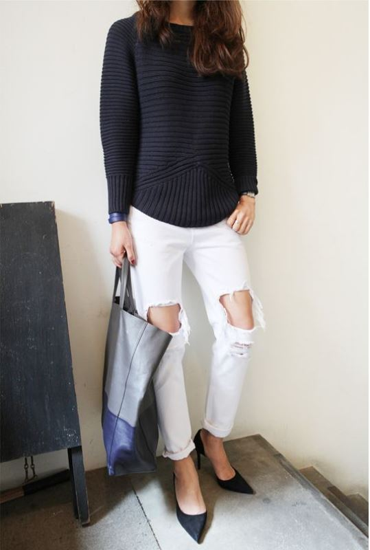 Picture Of stylish summer to fall looks to copy  9