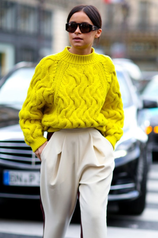 Picture Of stylish ways to turn up the brights this spring  14