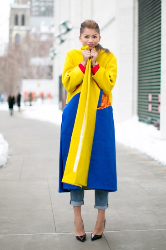 Picture Of stylish ways to turn up the brights this spring  8