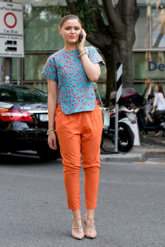 Picture Of stylish ways to turn up the brights this spring  9