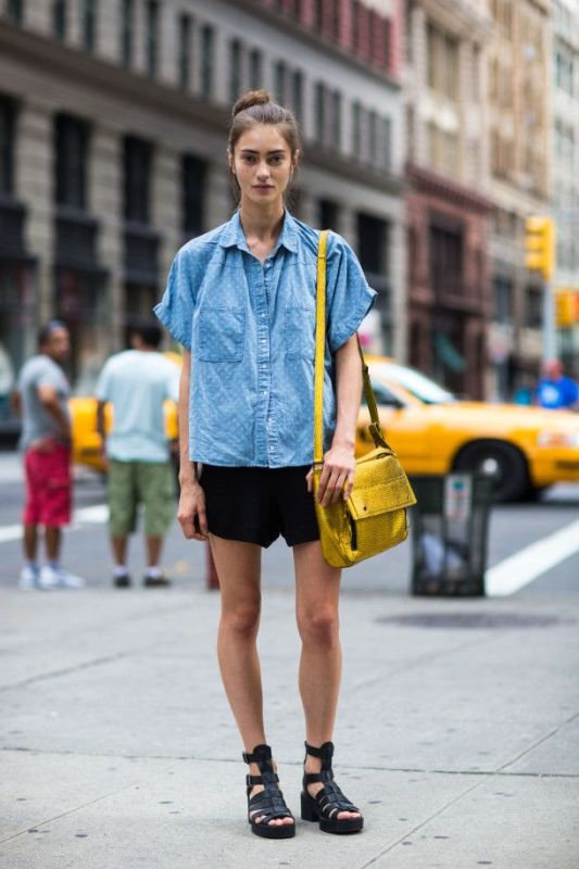 Picture Of ways to style chambray this summer  11