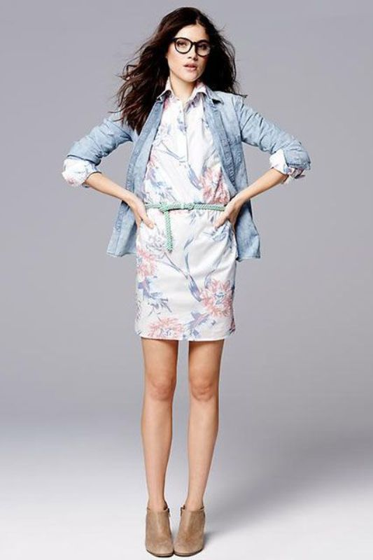 Picture Of ways to style chambray this summer  12