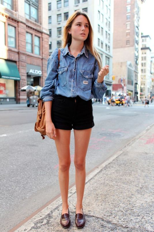 Picture Of ways to style chambray this summer  13
