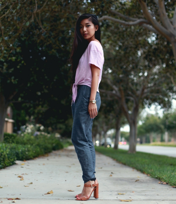 Picture Of ways to style chambray this summer  15