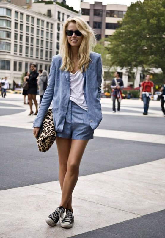 Picture Of ways to style chambray this summer  18