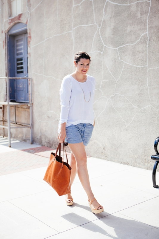 Picture Of ways to style chambray this summer  3