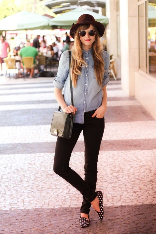 Picture Of ways to style chambray this summer  4