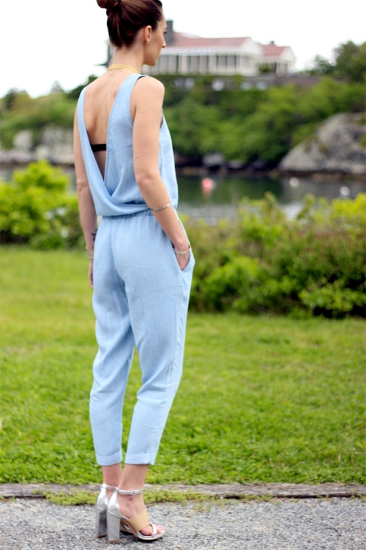 Picture Of ways to style chambray this summer  7
