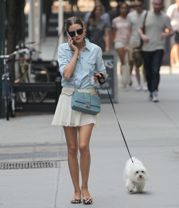 Picture Of ways to style chambray this summer  8