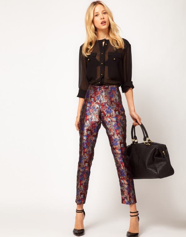 Picture Of wonderful ways to wear printed trousers this spring  13