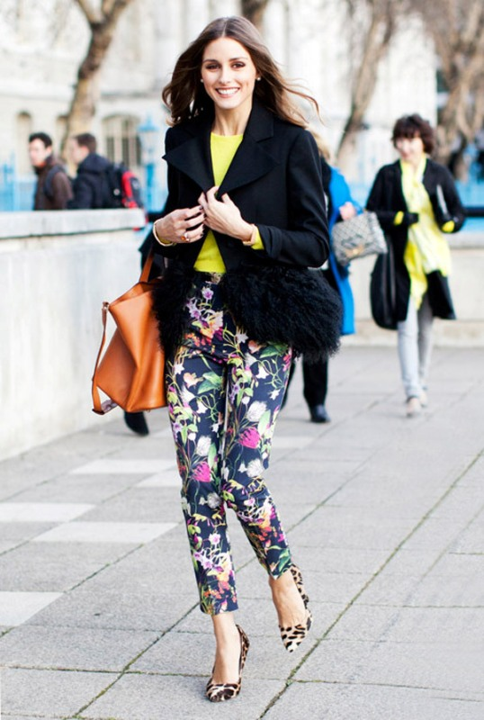 Picture Of wonderful ways to wear printed trousers this spring  15