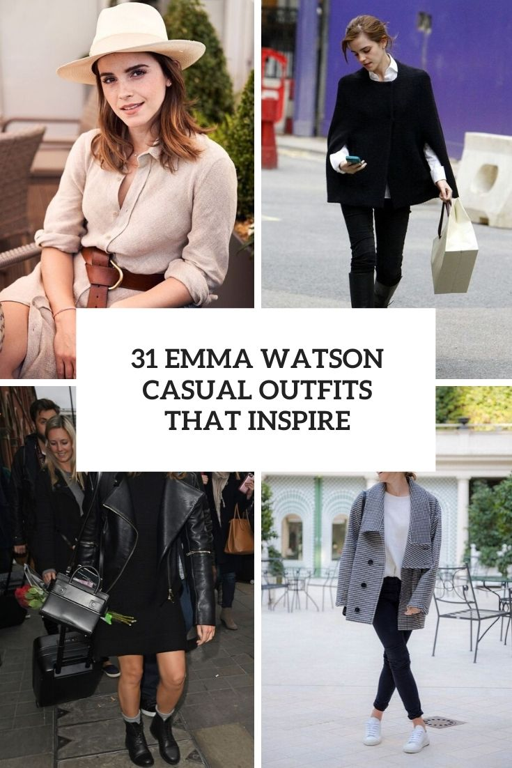 emma watson casual outfits that inspire cover
