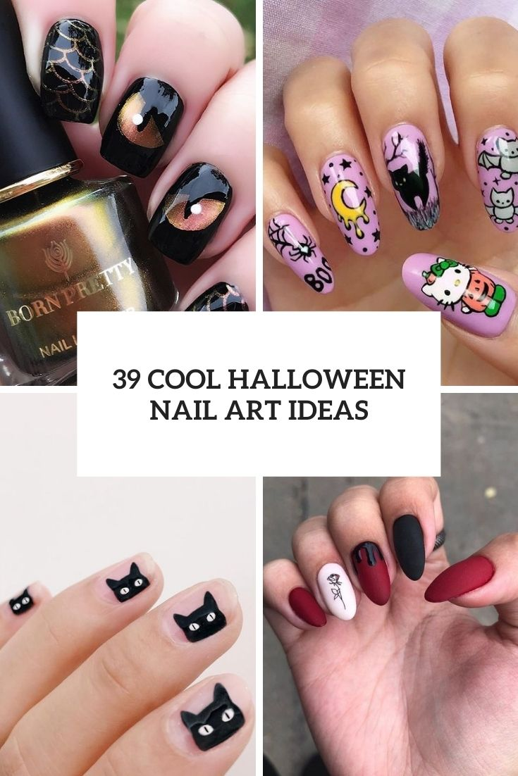 11 Cool Halloween Nail Art Ideas
