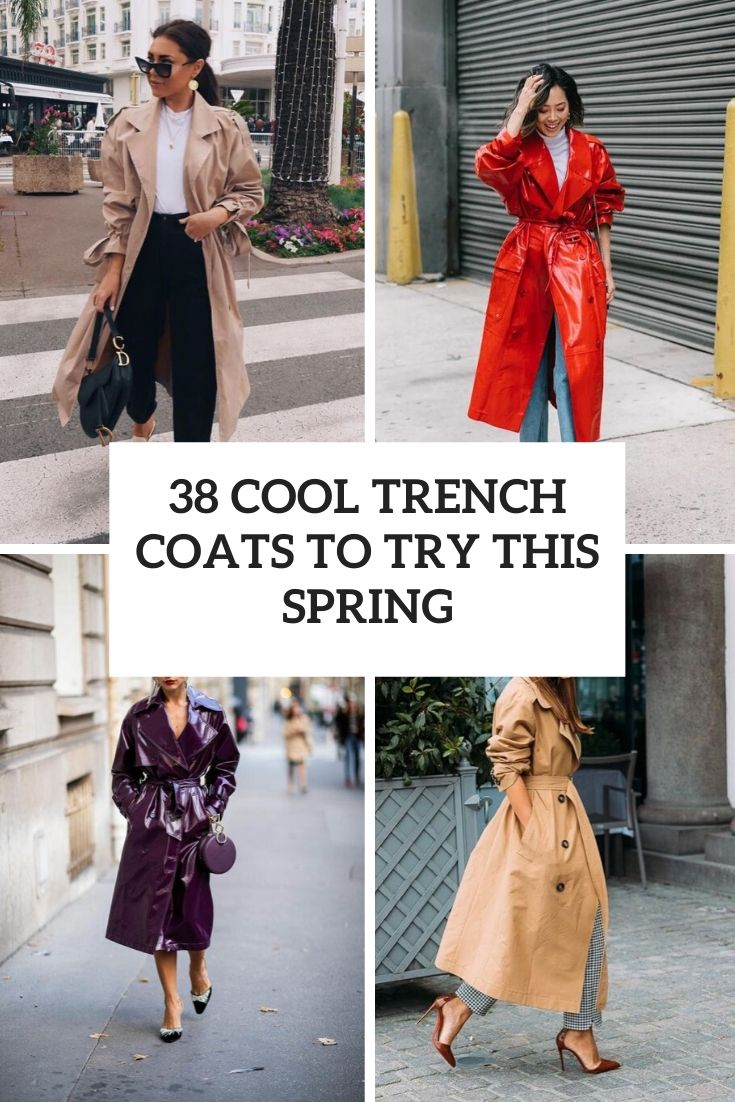38 Cool Trench Coats To Try This Spring