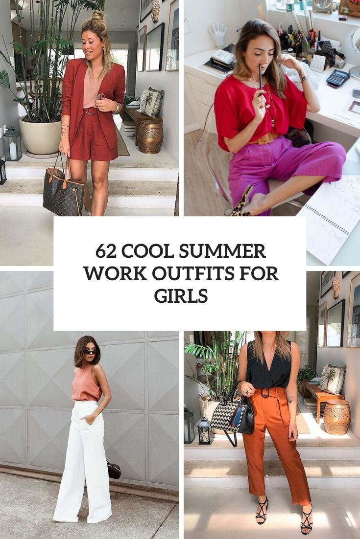 cool summer work outfits for girls cover