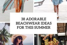 38 adorable beachwear ideas for this summer cover