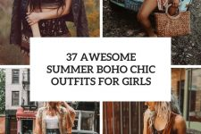 37 awesome summer boho chic outfits for girls cover