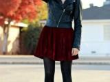 16 Awesome Velvet Skirt Ideas For Every Girl