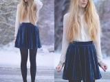 16 Awesome Velvet Skirt Ideas For Every Girl2
