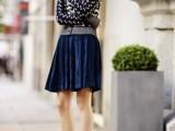 16 Awesome Velvet Skirt Ideas For Every Girl7