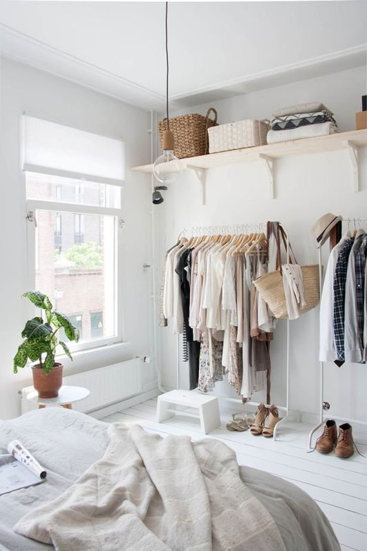 Picture Of simple and stylish minimalist closet ideas  1