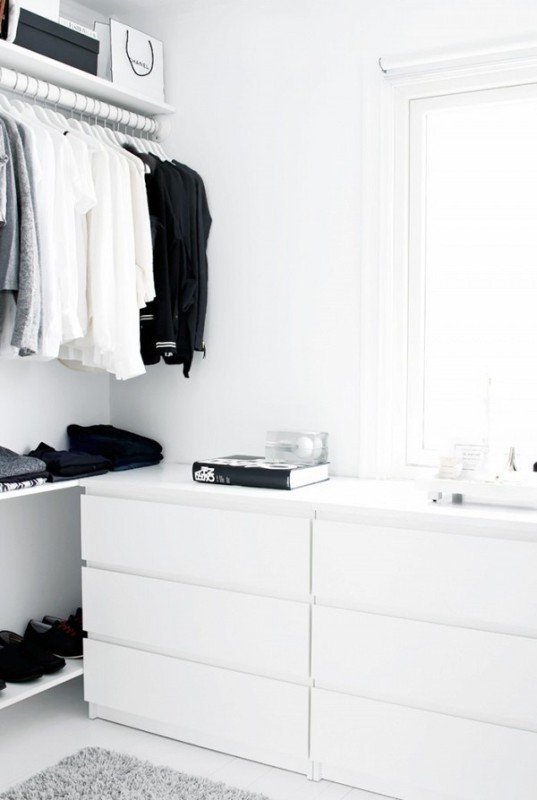 Picture Of simple and stylish minimalist closet ideas  11