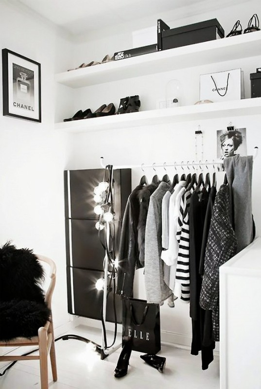 Picture Of simple and stylish minimalist closet ideas  12