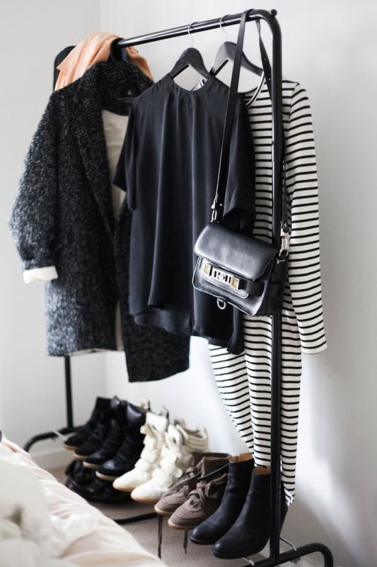 Picture Of simple and stylish minimalist closet ideas  13