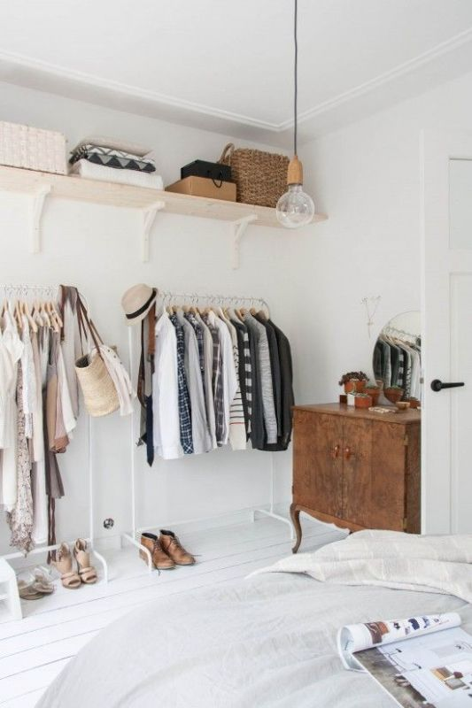 Picture Of simple and stylish minimalist closet ideas  14