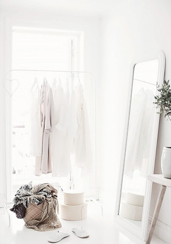 Picture Of simple and stylish minimalist closet ideas  15