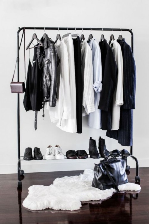 Simple And Stylish Minimalist Closet Ideas