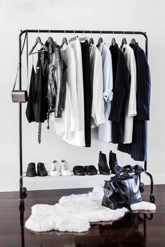 Picture Of simple and stylish minimalist closet ideas  16