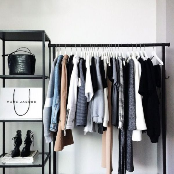 Picture Of simple and stylish minimalist closet ideas  17