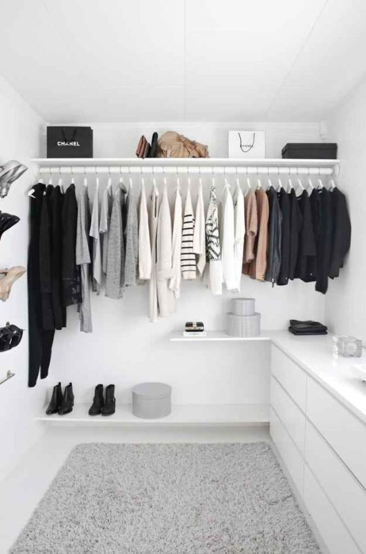 Picture Of simple and stylish minimalist closet ideas  2