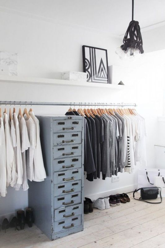 Picture Of simple and stylish minimalist closet ideas  3