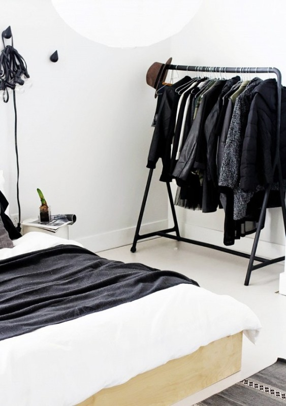Picture Of simple and stylish minimalist closet ideas  4